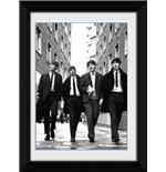 The Beatles In London Framed Photographic Print 8x6""