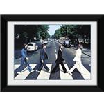 The Beatles Abbey Road Framed Photographic Print 8x6""