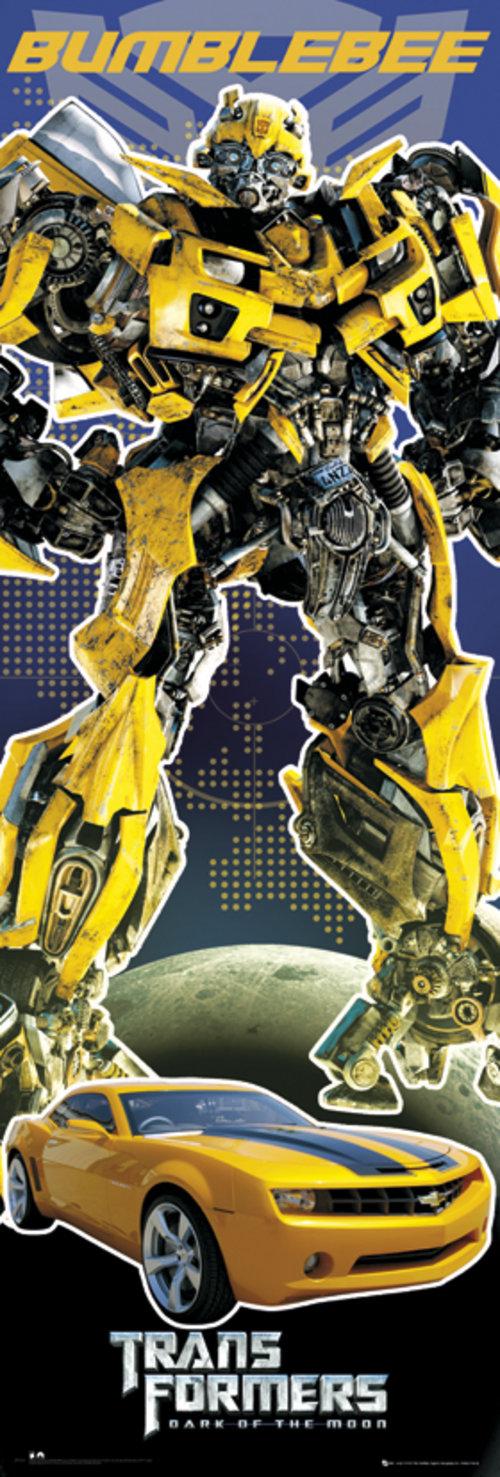 official transformers  bumblebee door poster buy   offer