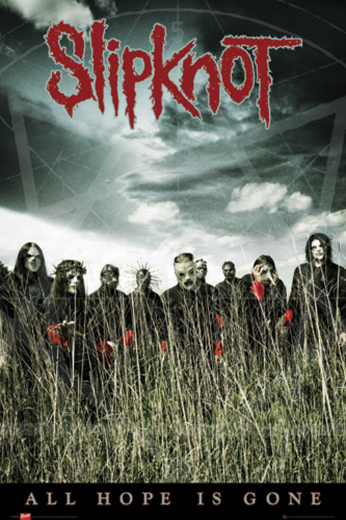 Official Slipknot Poster Buy Online On Offer