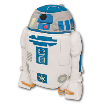 STAR WARS R2D2 Novelty Plush Bag Backpack Buddy