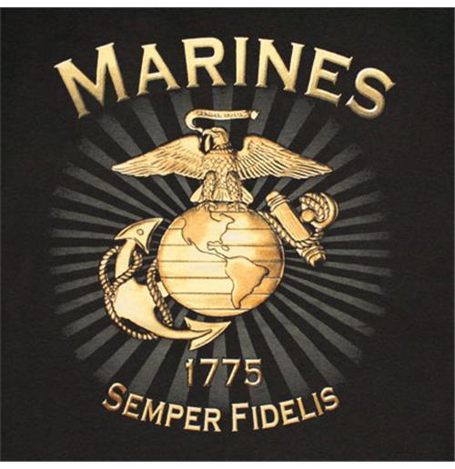 Buy Official Us Marines Brass Logo Semper Fidelis