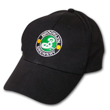 Buy Brooklyn Brewery Embroidered Black Logo Adjustable Baseball Hat