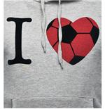 I Love Football Hooded Sweater