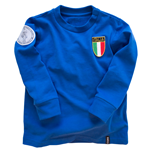 Italy 'My First Football Shirt' Long Sleeve 90% organic cotton / 10% elasthan