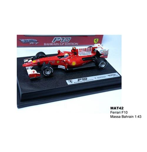 Toy car model  Ferrari F10 Massa Bahrain 1:43 Racing