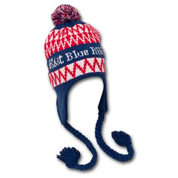 Buy Official Pabst Blue Ribbon PBR Laplander Flaps Winter Knit Beanie 2b548fc6790