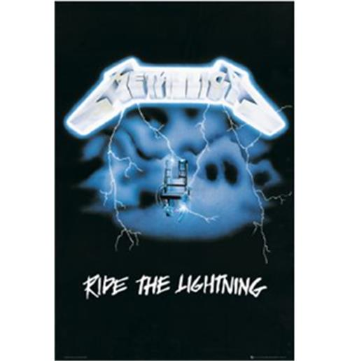 Metallica-The Ride Lightining-Poster