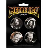 Metallica-Band-Badge Pack