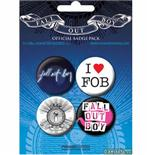 Fall Out Boy-Badge Pack