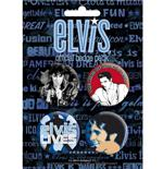 Elvis-The King-Badge Pack