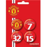 Manchester United-Players1-Badge Pack