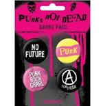 Punks Not Dead-Badge Pack