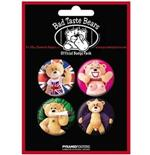 Bad Taste Bears-Risque-Badge Pack