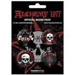 Alchemy Gothic-La Mort-Badge Pack
