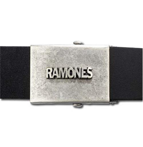 Ramones Logo Leather Belt