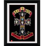 Guns N Roses Appetite Framed Photographic Print