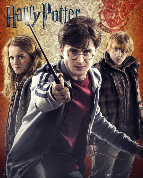Harry Potter 7 Trio Mini Poster