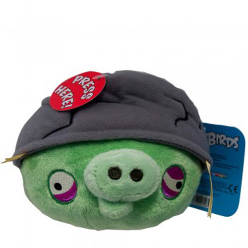 Angry Birds Toys With Sound : Angry birds soft toy with sound design helmet