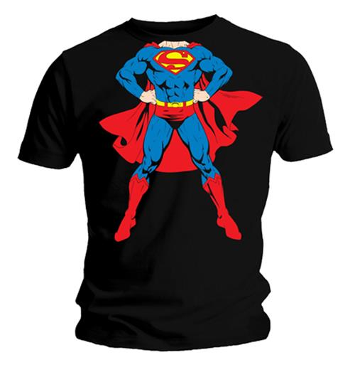 Superman T Shirt Full Body S. Emi Music officially licensed t-shirt.