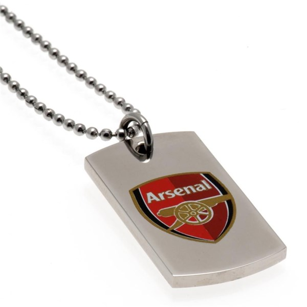 Arsenal F.C. Colour Crest Dog Tag