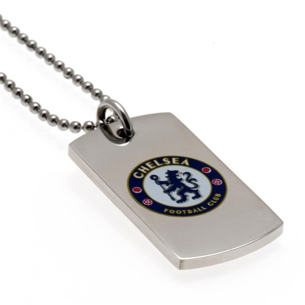 Chelsea F.C. Colour Crest Dog Tag