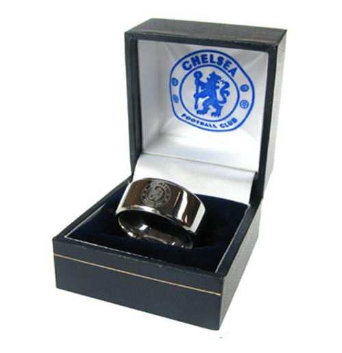 Chelsea F.C. Band Ring Small