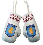 Aston Villa F.C. Mini Boxing Gloves