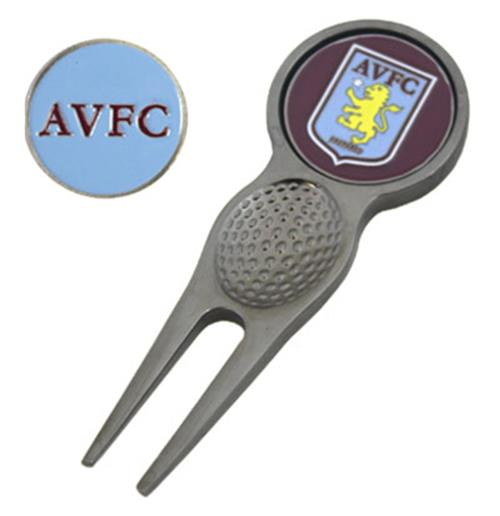 Aston Villa F.C. Divot Tool and Marker