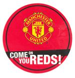 Manchester United F.C. Window Sticker RD