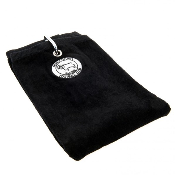 Derby County F.C. Golf Towel (Tri-Fold)
