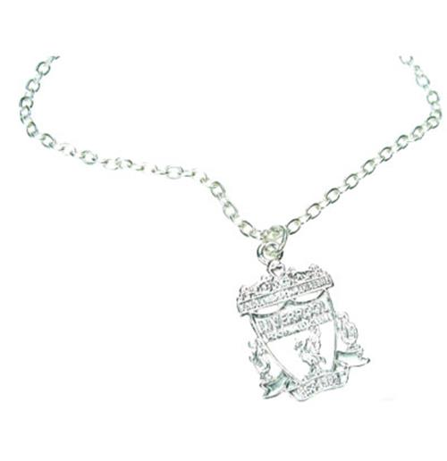 Liverpool F.C. Silver Plated Pendant and Chain CR