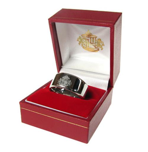 Sunderland A.F.C. Band Ring Small