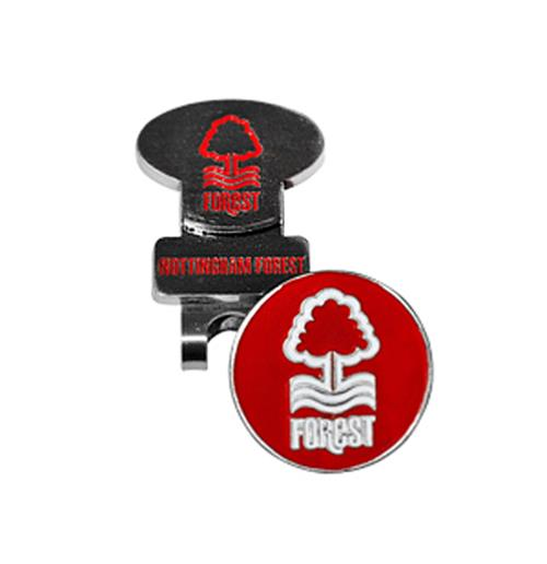 Nottingham Forest F.C. Hat Clip and Marker