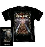 Megadeth T Shirt End Game. Emi Music officially licensed t-shirt.