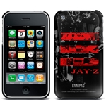 Jay Z Iphone Cover 3G/3GS - Red Logo. Emi Music officially licensed product.