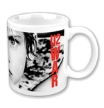 "Various Artists Mug U2 ""WAR"". Emi Music officially licensed product."