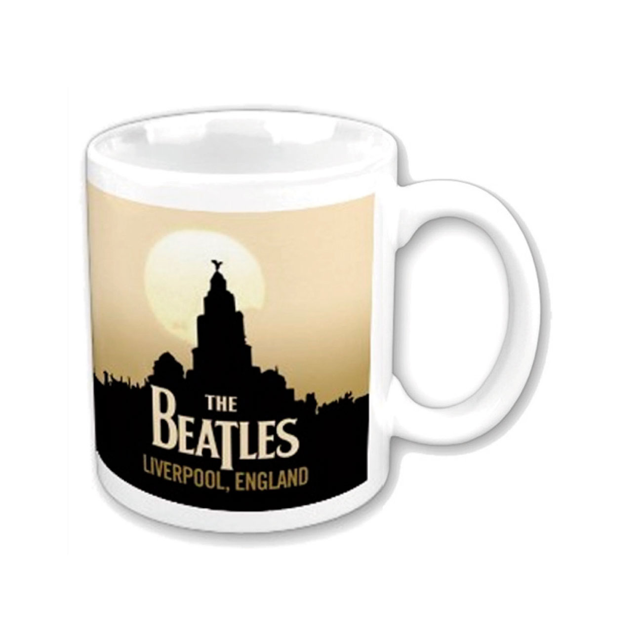 "Various Artists Mug The Beatles ""LIVERPOOL"". Emi Music officially licensed product."