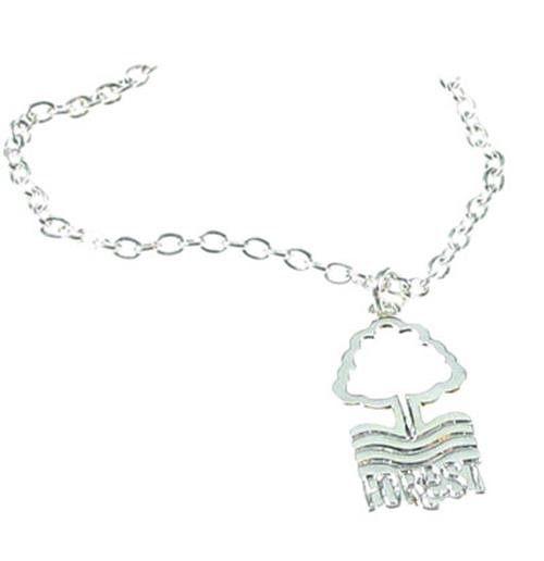 Nottingham Forest F.C. Silver Plated Pendant and Chain