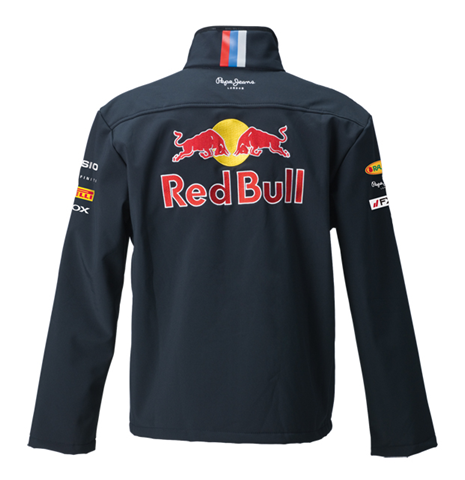 red bull official team jacket navy for only at. Black Bedroom Furniture Sets. Home Design Ideas