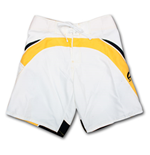 CORONA EXTRA White Racer Mens Board Shorts