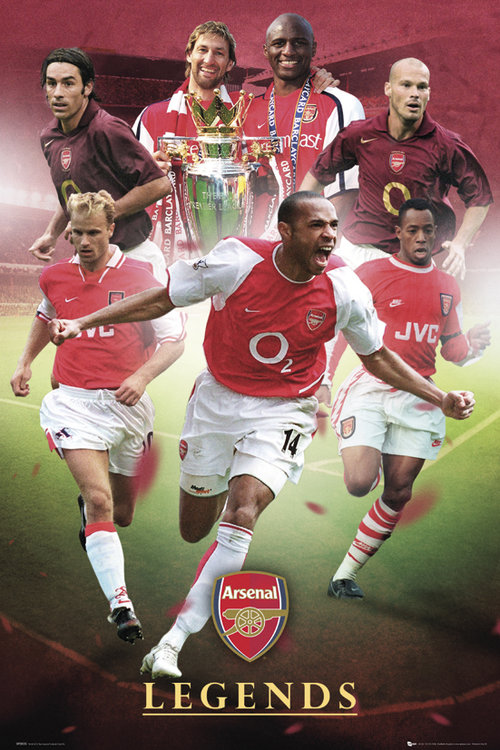 Arsenal Legends Maxi Poster
