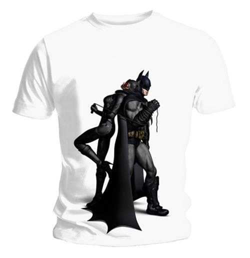 Batman Arkham City T Shirt Back To Back. Emi Music officially licensed t-shirt.