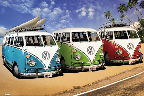 VW Californian Camper Campers Maxi Poster