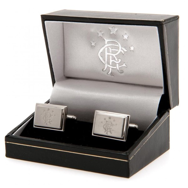 Rangers F.C. Stainless Steel Cufflinks