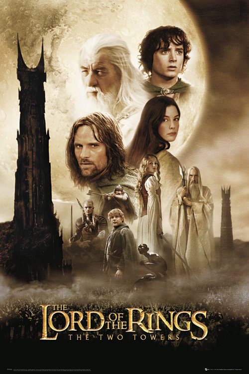 Lord Of The Rings Two Towers Maxi Poster