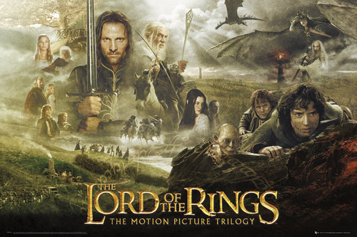 Lord Of The Rings Trilogy Maxi Poster