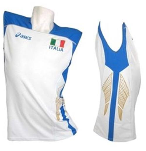 Italy Volleyball 2012/2013 Ladies Away Jersey