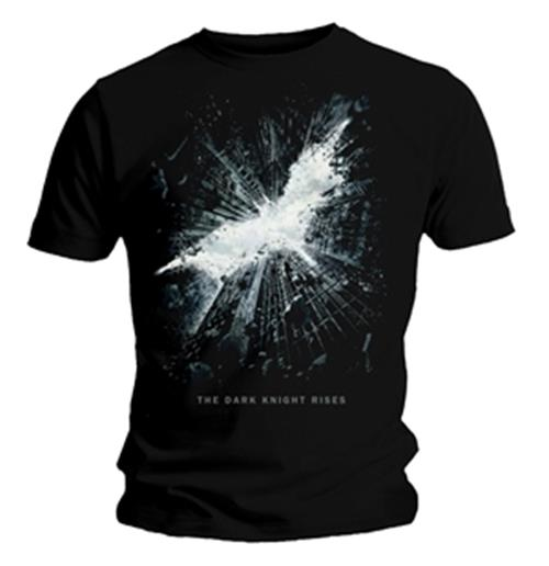 The Dark Knight Cityscape Logo T-shirt. Emi Music & The Dark Knight Rises officially licensed t-shirt