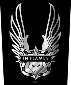 In Flames   Winged Logo   Backpatch